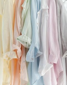 Love these shirts! Actually I love anything pastel especially purple,blue,pink and yellow!
