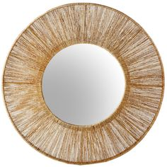 Selamat Designs High Ball Mirror- Natural By ($373) ❤ liked on Polyvore featuring home, home decor, mirrors and selamat designs
