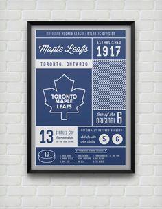 9298d05f0 Toronto Maple Leafs Stats Print