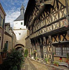 Marcigny, Bourgogne, France