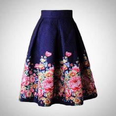 81e3edeae Fall 2017 JERSEY: Casual skirts Pleated Skirt, Midi Skater Skirt, Midi  Skirts,