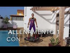 Mini Trampoline Workout, Yoga Fitness, Health Fitness, Trampolines, Rebounding, Tutorial, Stay Fit, Lose Weight, Sport