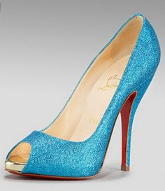 Turquoise Wedding Shoes Beautiful <3