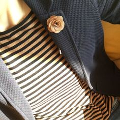 Starting the week with stripes and matching boutonniere. #instafashion #style #dandy #dapper #accessories #stripes