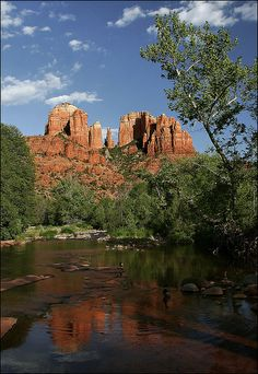 Cathedral Rock , Sedona, Arizona.