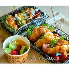 お弁当レシピ投稿サイトObentoPark!毎日のお弁当づくりが楽しくなるアイディア満載♪お弁当レシピ以外にも、常備菜や簡単で美味しいおかずの作り方も掲載しています! Bento Recipes, Healthy Recipes, Food N, Food And Drink, Mickey E Minie, Picnic Foods, Bento Box Lunch, Healthy Eating, Cooking