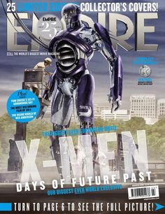 25 'X-Men: Days of Future Past' Empire Magazine Covers -- Sentinels