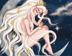 Virgo astrology horoscope art Inspiration. More art on the grid on Behance