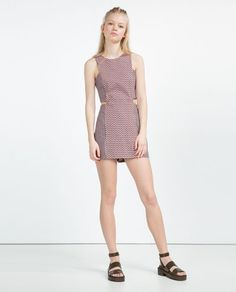 ZARA - WOMAN - JUMPSUIT DRESS WITH CUT-OUTS