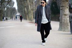 Paris Men's Fashion Week Fall 2015 Street Style Photos | W Magazine