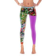 Colour Infected Leggings  Colourful Womens Leggings Launched by Rasberydays    #Leggings #DesignerClothing #Rasberydays #Yoga #Tights