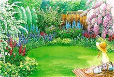 Attraktiver Sichtschutz - Vorschlag 1 - Mein schöner Garten
