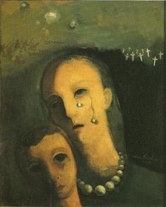 Félix Nussbaum, Les perles (1938)