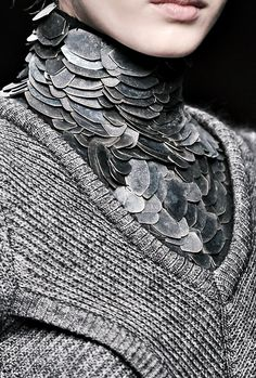 game-of-style:  Armour for Daenerys - Byblos fall 2010 - submitted by squeakowl