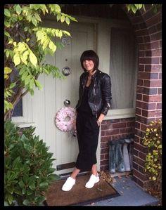 My Midlife Fashion, Zara Leather Biker Jacket, Marks and Spencer Insolia…