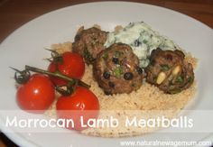 Morrocan Lamb Meatballs with Couscous