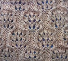 Sea-Urchin knitting stitch chart on Free Knit Stitches -- DO NOT click on Download buttons; this chart is the pattern -- at http://freeknitstitches.com/pattern.php?num=132&menu=3
