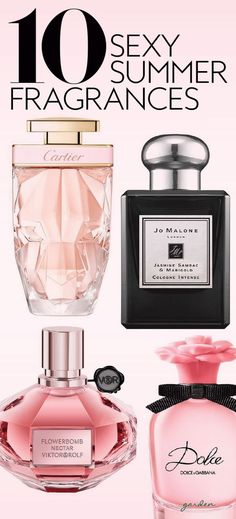 It's time to swap out your signature scent. #fragrances #bestfragrances #perfumes #springscents