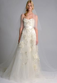 A-Line Wedding Gowns for slightly fuller figured bride | Plus Size Wedding Dress with Strapless sweetheart neckline | A style like this one can be made to order in any size and with any changes | A custom bridal gown from a USA company is available for an inexpensive price.