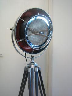 1960's vintage industrial floor lamp...