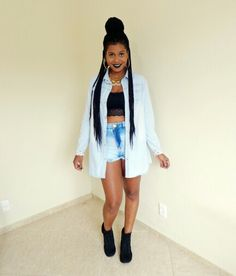 Look, Streetstyle, Swag, Box Braids - Eva Lima