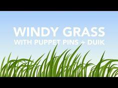 Windy Grass After Effects Tutorial - Puppet Pins + DUIK - Augustus the A...