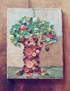 button tree! by kristine