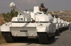 AMX Leclerc tanks in UN Forces