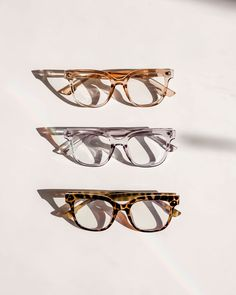 Use them as is for blue light protection or insert your perscription lenses for effortless trans-seasonal styling. Perfect for a babe on the move. Clean Lines, Tortoise, Compliments, Lenses, Eyewear, Studs, Babe, Light Blue, Editorial