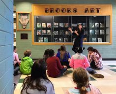 Our 6th grade art foundations students were in great hands these past two weeks as they were coached cared for and inspired by photographer @stephaniebassos Heres my group engaged in their final critique.  #ArtEd #OakPark97 #D97Art #D304