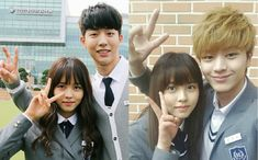"""The Internet Reacts to """"Who Are You: School Finale-best drama of 2015 until last episode ! went from to a want a reset , reset Taiwan Drama, Drama Korea, Who Are You School 2015, High School Love, Sungjae Btob, Kim Sohyun, Drama Funny, Kbs Drama, Drama School"""