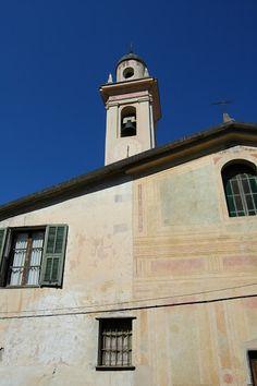 Fanghetto, Frazione di Olivetta San Michele (IM), Chiesa della Madonna e dell'Angelo Custode