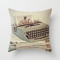 Something french Vintage typewriter olivetti by MonochromeStudio