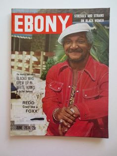 General Interest Monthly Magazine Back Issues Redd Foxx, Jet Magazine, Professor, Growing Up, Magazines, Black Women, Jackson, June, African