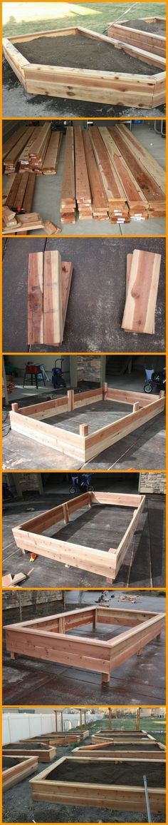 How do you get a raised garden bed without spending a lot? Build your own! http://theownerbuildernetwork.co/fak8