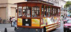 deshilados de calvillo ags | El primer vistazo del Centro Histórico a bordo del Tranvía ...