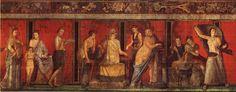 """""""Fregio del mistero"""" dalla Villa dei Misteri a Pompei, 1 a.C"""