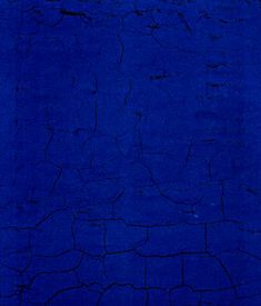 yves klein- monocrhome painting IKB22 Blue 1957