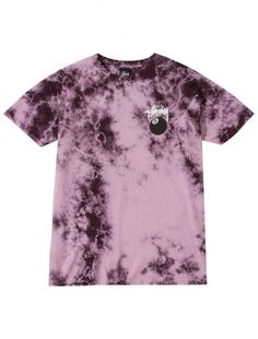 Stussy eight ball tee Guess Clothing, Roblox Shirt, Look T Shirt, Tie Dye Fashion, Tie Dye Designs, Tie Dye Shirts, Tye Dye, Custom Clothes, Cool Outfits