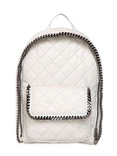 STELLA MCCARTNEY - FALABELLA QUILTED SHAGGY FAUX DEER - LUISAVIAROMA - LUXURY SHOPPING WORLDWIDE SHIPPING - FLORENCE