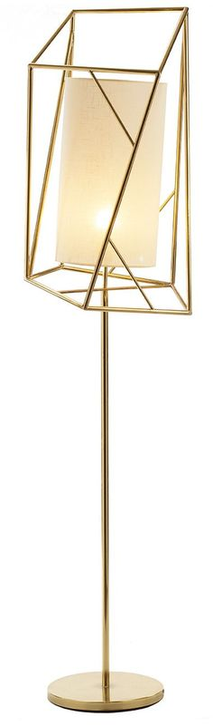 Floor lamp Star III, #design by Claudia Melo for Mambo's ETTERO Collection  #brass #lamp