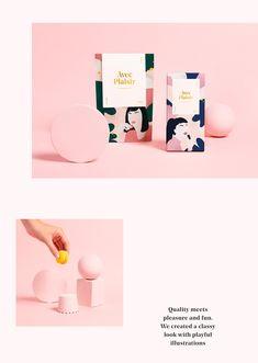 AVEC PLAISIR - Packaging & Branding on Behance