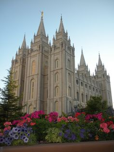 Temple square, Salt Lake City, UT. I get to see this building every day.