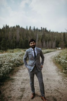 584071604f38 groom style for a summer wedding in the mountains. by christine marie photo