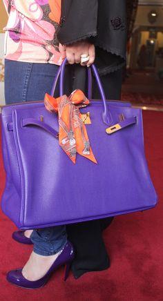 Birkin - purple crush