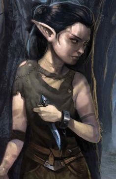 f Half Elf Half Halfling Rogue Thief forest hills Fantasy Races, High Fantasy, Fantasy Rpg, Medieval Fantasy, Dungeons And Dragons Characters, Dnd Characters, Fantasy Characters, Female Characters, Fantasy Portraits