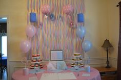 """Photo 5 of 10: Pink & blue, baby feet / Gender Reveal """"Gender Reveal"""" 