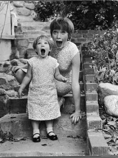 Shirley MacLaine and her daughter Sachi, by Allan Grant, 1959