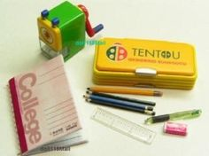 RE-MENT-34-miniature-student-stationary-pencil-sharpener-book-pencase