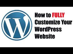 How to Customize Your WordPress Theme tutorial